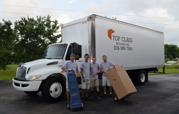 Movers and Moving in and Near Fort Myers, Cape Coral Florida